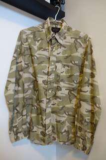 Beams Plus Button Down Camo Shirt