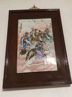 Vintage Chinese  porcelain Painting
