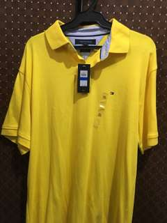 Tommy Hilfiger Polo Shirt (Yellow)