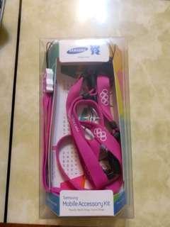 Samsung mobile accessory kit (2012London Olympics ltd)