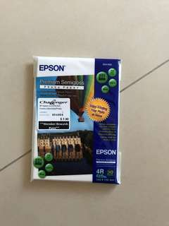 🚚 Epson & Canon 4R Glossy Photo Paper