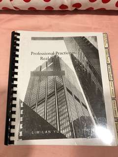 Professional Practice in Real Estate
