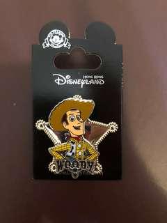 迪士尼襟章 Disney pin trading 胡迪 woody