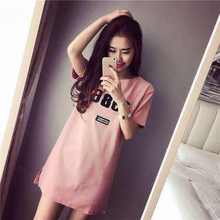 🚚 KOREAN SUMMER T-SHIRT DRESS