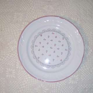 "Vintage Japan flat plate, 8"""