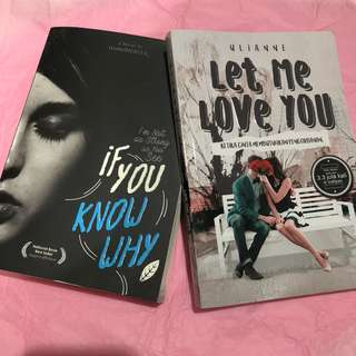 TAKE THIS 2 NOVELS IF YOU KNOW WHY AND LET ME LOVE YOU