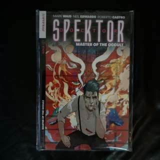 Dynamite Comic Doctor Spektor - Master of the Occult 2015 TPB by Mark Waid, Neil Edwards & Christian Ward !
