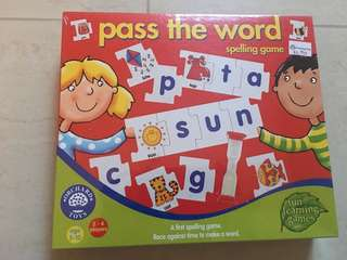 Orchard Toys Pass The Word Spelling Game