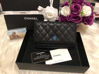 Chanel WOC Caviar Leather