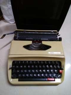 古老打字機 便攜 有盒