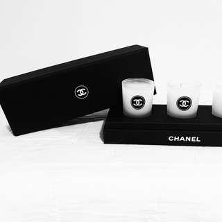 CHANEL Perfume Fragrance Candles Gift Set