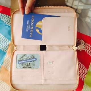 Typo Travel Zip Up Pouch
