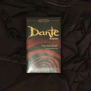 LAST PRICE! The Inferno by Dante Alighieri (Sealed)