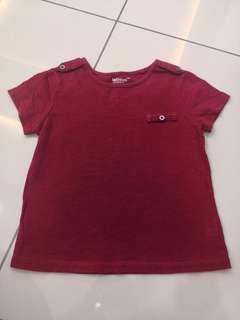 LativKids Red Shirt(3-4y)
