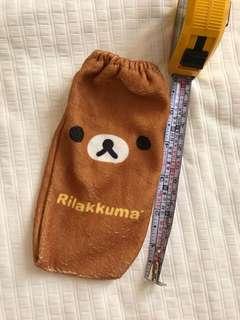🚚 日本帶回 拉拉熊寶特瓶毛巾袋