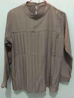 Pleated Set Atasan + Celana