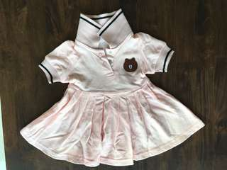 Polo Dress for 3-6 months old