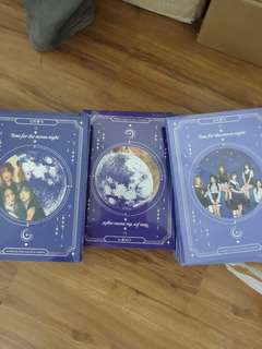 Gfriend 6th mini album Time for the Moon Night Album(Sealed ,Ready stock)