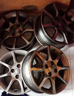 Rim alza advance 15 inch original grey