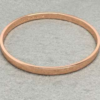 Kate Spade New York Sample Bangle rose gold 玫瑰金色手鈪 直徑6.5 cm