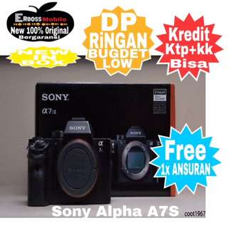 Sony Alpha A7S-Body Only New Resmi Cash/kredit Ditoko Dp Call/Wa;081905288895