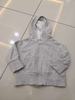 Grey Baby Sweater(12-18m)