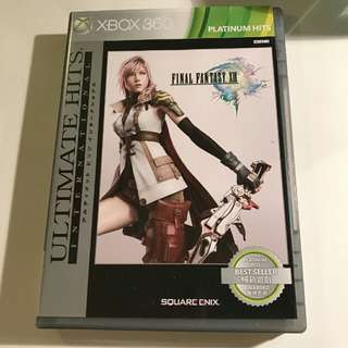 Xbox 360 used final fantasy XIII lightning