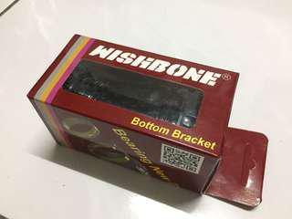 Wishbone ceramic bottom bracket