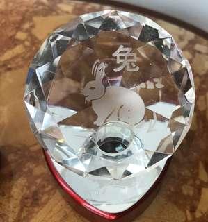glass zodiac sign