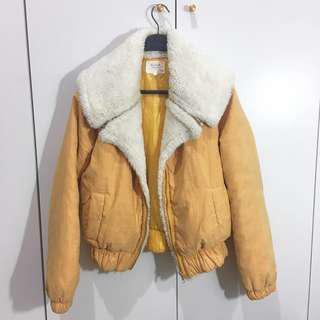 Jaket Kuning Beli di Korea Ukuran Free Size Jacket