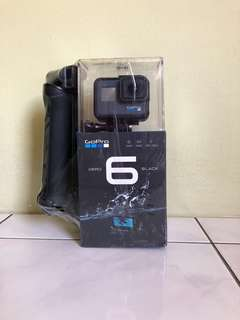 GoPro Hero 6 Black with arm accessory