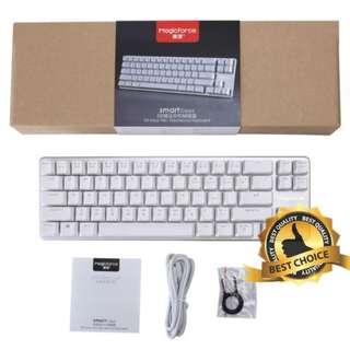 🚚 (New) Gaming Keyboard Mechanical (MagicForce) 68 Keys - Blue Switch