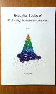 AB1202 Essential Basics of Probability, Statistics and Analytics