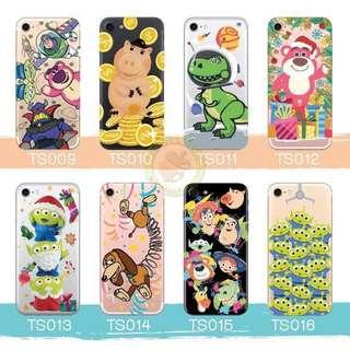 訂製多種型號 phone case透明手機套電話套 toystory lotso 三眼仔 勞蘇