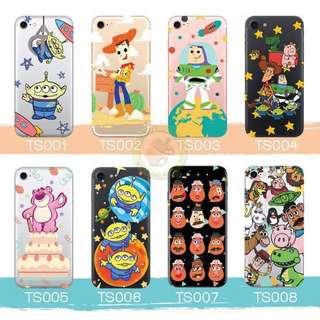 訂製多種型號 iphone Samsung 透明手機套電話套 Toystory lotso 勞蘇 三眼仔
