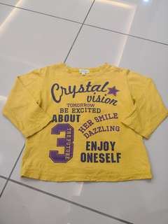 3can4on Yellow Shirt(3-4y)