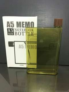Botol minum memo A5