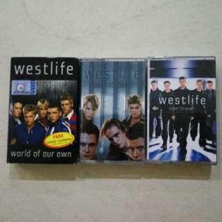 Westlife cassette tape 卡带磁带