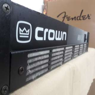 Power Amplifier CROWN (USA) Vintage amp 20 yrs