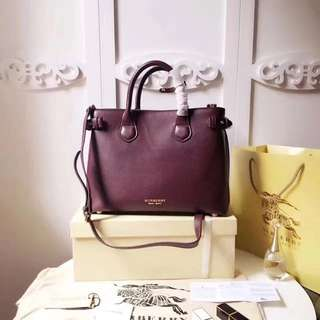 Burberry Banner House Check Maroon