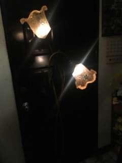 玻璃花朵立燈