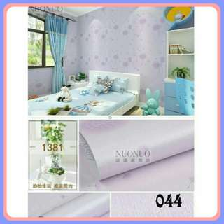 Wallpaper Sticker Lavender Purple 45cm x 10m