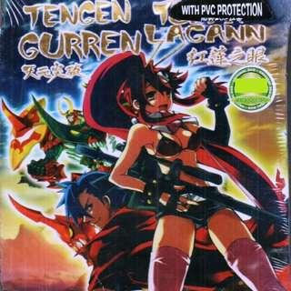 Tengen Toppa Gurren Lagann Chp 1-27 End + Movie Anime DVD
