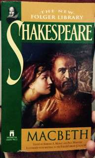 SHAKESPEARE MACBETH (The New Folger Library)