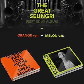 SEUNGRI(BIGBANG)-The Great Seungri [1st Solo Album]