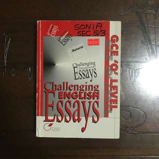 challenging english essays