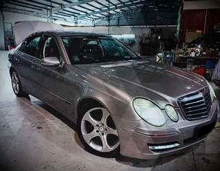 Mercedes E200K $450/wk!