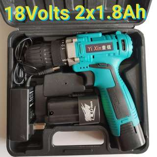 18Volts  Lithium Battery Cordless Drill