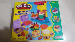 Good quality 2 sets play doh ice cream maker. Little ponies