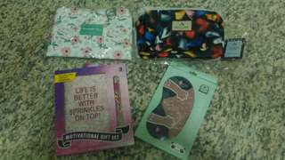 Pouch and stationery